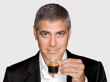 george clooney coffee